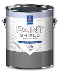 Sherwin Williams product Paint Shield Interior Latex