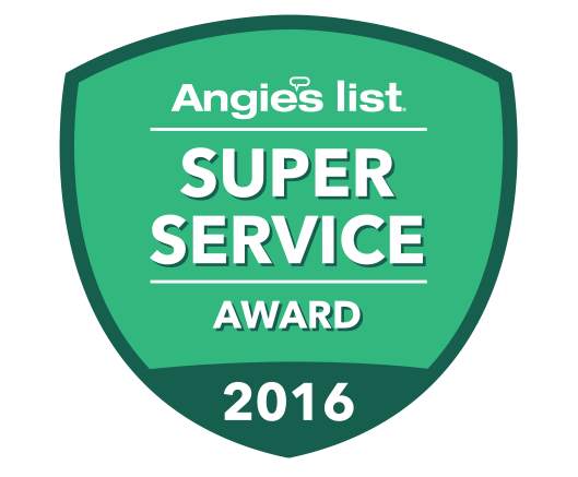 Angie List Super Service Awarded to O'Connor's Painting 2016