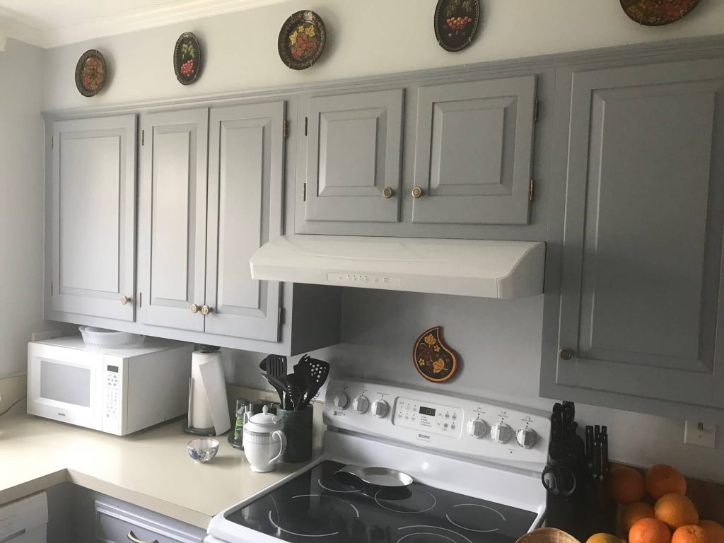 Kitchen cabinet's painting by O'Connor's Painting Service