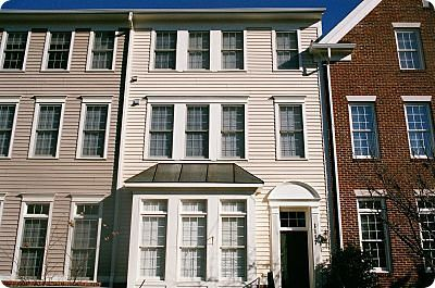 painted townhouses in rockville maryland